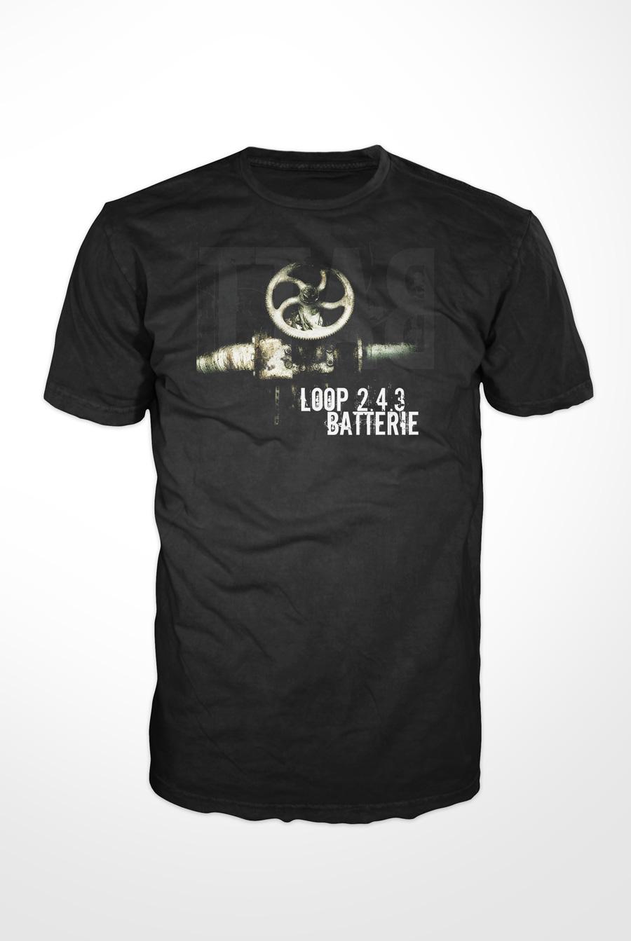 LOOP 2.4.3 'BATTERIE' T-SHIRT